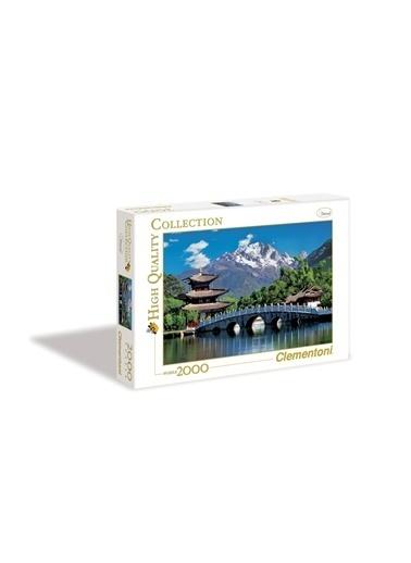 Clementoni Lijiang, China (2000 parça) Renkli